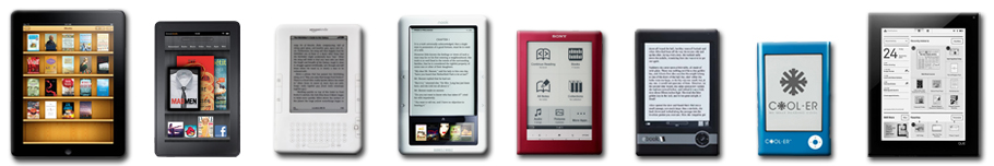 Publish your eBook on multiple eReaders